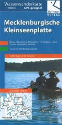 Wasserwanderkarte Mecklenburgische Kleinseenplatte