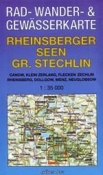 """Rad-, Wander- & Gewässerkarte """"Rheinsberger Seen - Gr. Stechlin"""""""