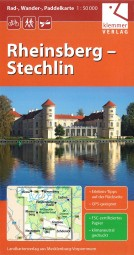 Rad-, Wander-, Paddelkarte - Rheinsberg-Stechlin