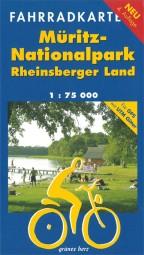 Fahrradkarte Müritz Nationalpark und Rheinsberger Land